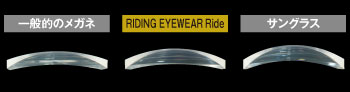 RIDING EYE WEAR Ride用カーブ